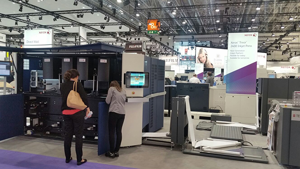 Day 9 at drupa 2016 – Time to talk about us. And Xerox Impika. Solimar Systems