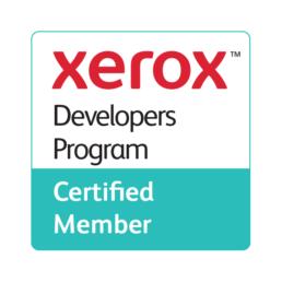 Xerox Developer Program certified member