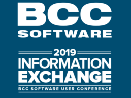 2019 BCC Software User Conference Information Exchange