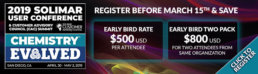 2019 Solimar User Conference Early Bird