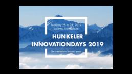 HUNKELER INNOVATIONDAYS 2019