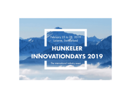 HUNKELER INNOVATIONDAYS 2019