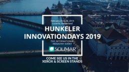 Hunkeler Innovation Days 2019 Solimar