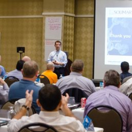 Solimar Systems, Customer Communications, PDF, Transactional Print, Workflow Management, Workflow Automation, Xerox, Konica Minolta, Canon, Oce, Digital Print, EFI, Crawford, San Diego, Augmented reality, Mary Ann Rowan, Mailer, Industry Association, Jamie Walsh, Paul Abdool, Jonathan McGrew, Screen, Riso, Ricoh, Transactional Printing, Print, Printing, Xplor, RealityBlu, Xploration, Ligia Mora, Customer Advisory Council, Padres