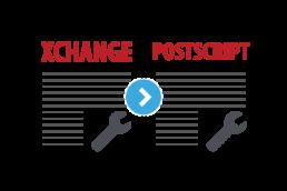 SPDE XCHANGE::PostScript Conversion Module