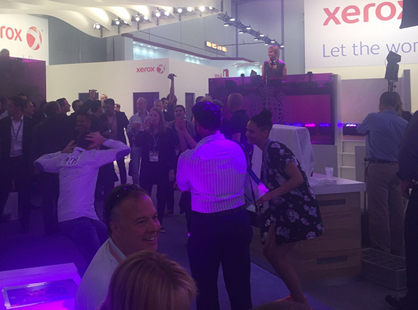 Day 10 at drupa 2016 - We are the world (of communication)! Solimar Systems . Xerox . Printing . Workflow automation