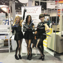 Edward Scissorhands has 3 Sister or Day 1 at Graph Expo 2016