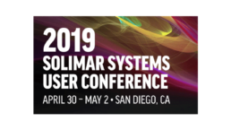 2019 Solimar User Conference