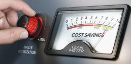 Dial in Cost Savings by being Lean