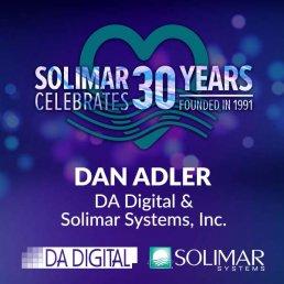 Dan Adler-30 Years Solimar Partnership